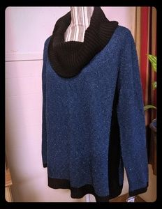 Cowl neck sweater nwt